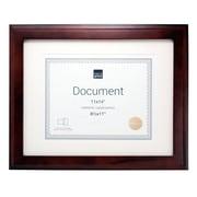 Kiera Grace – Cadre pour document Oxford PH43120-2, 11 po x 14 po, avec passe-partout pour document de 8,5 po x 11 po, espresso