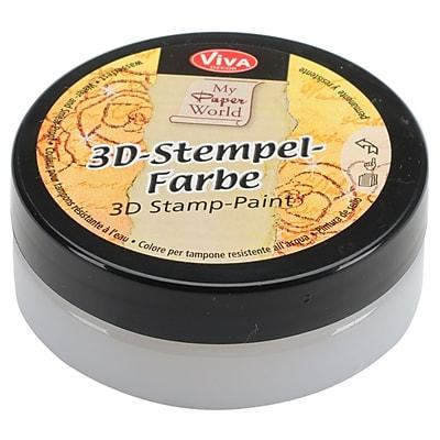 Viva Decor 3D Stamp Paint, Transparent