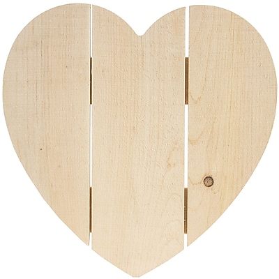 Walnut Hollow Rustic Heart 14 x 14 inch