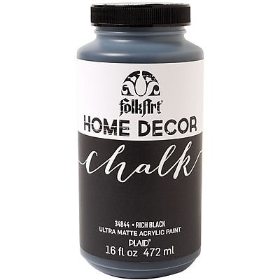 FolkArt Chalk Paint, Rich Black