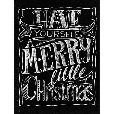 Melissa Frances Chalkboard Canvas Print 15.75 x 12 inch , Have Yourself