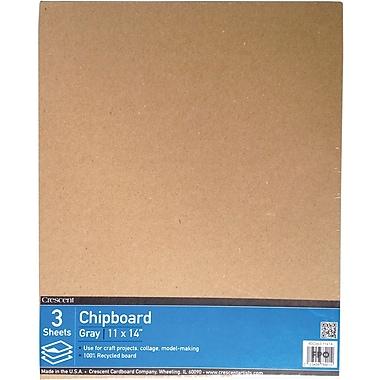Crescent Cardboard Co Crescent Chipboard Brown 14 x 11 inch