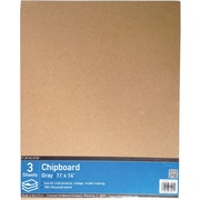 Crescent Cardboard Co Crescent Chipboard Brown 14 x 11 inch