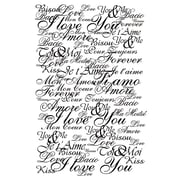 Artemio Cling Stamps, Love