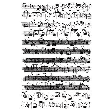 Artemio Cling Stamps, Music Score