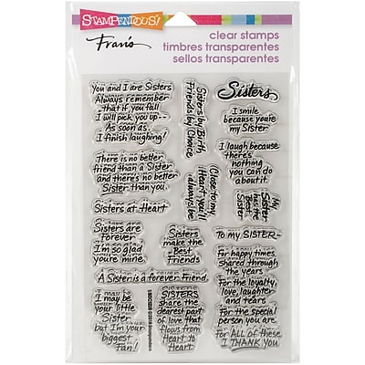Stampendous Clear Stamps, Sisters