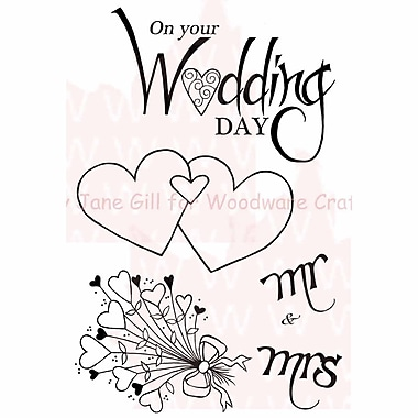 Woodware Craft Collection Clear Magic Singles Clear Stamps