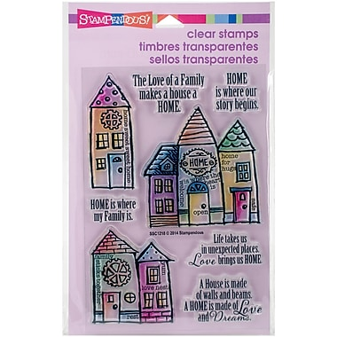 Stampendous Clear Stamps, Family Home