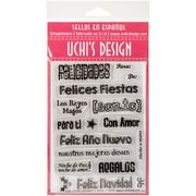 Uchis Design Bilingual Holydays Clear Stamp Set