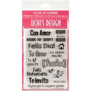 Uchis Design Stamp Set Sheet, With Love