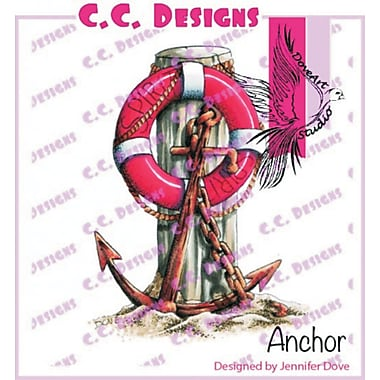 DoveArt Anchor Rubber Stamp
