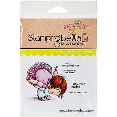 Stamping Bella Cling Rubber Stamps, Baby Bow