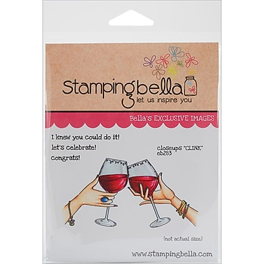 Stamping Bella Cling Rubber Stamps, Clink