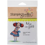 Stamping Bella Cling Rubber Stamps, Girly Girl Candy
