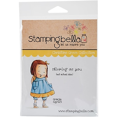 Stamping Bella Cling Rubber Stamps, Gracie