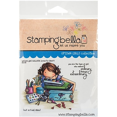 Stamping Bella Cling Rubber Stamps, Uptown Girl Callista Loves To Craft