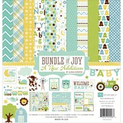 Echo Park Paper Collection Kit 12 x 12 inch, Baby Boy
