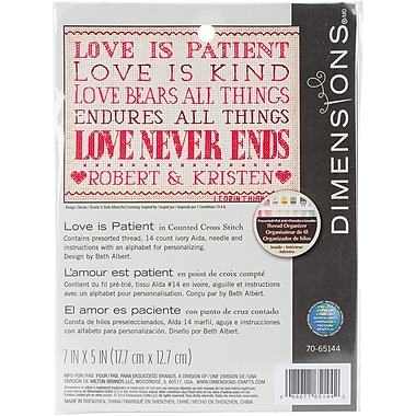 Dimensions Counted Cross Stitch Kit 7.5 x 5.5 inch