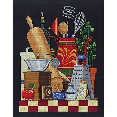 Janlynn Kitchen Still Life Cross Stitch Kit