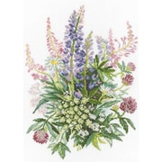 RTO Clover and Lupines Counted Cross Stitch Kit