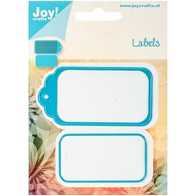 Joy! Crafts 5.5 x 4 inch Cutting Die-Label & Hanging Tag