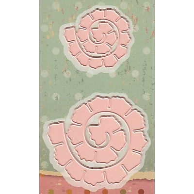 Joy! Crafts Roll Up Roses Rounded Cutting Dies