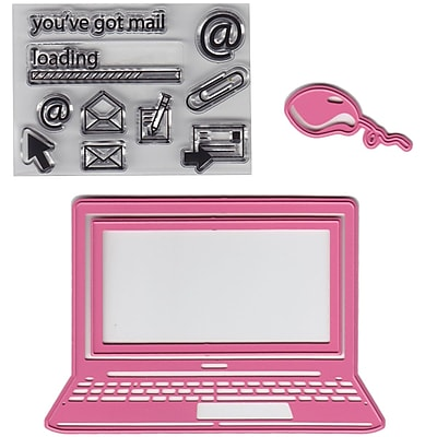 Marianne Design Collectables Dies With Stamps-Laptop