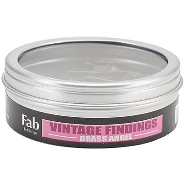 FabScraps Embellishments Jewellery Brass, Angel
