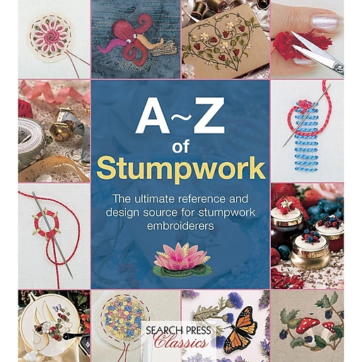 Search Press Books: A-Z Of Stumpwork (SP-11778)