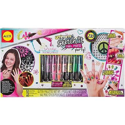 Alex Toys Ultimate Sketch It Nail Pens Party Kit 1580252