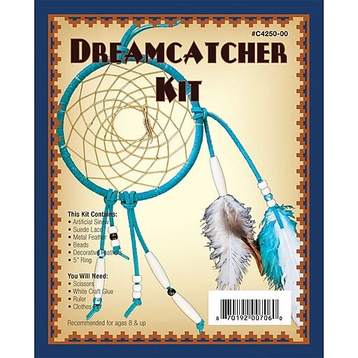 Realeather Crafts Realeather Crafts Dreamcatcher Kit 5 inch