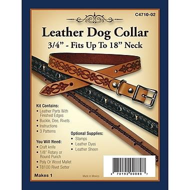 Realeather Crafts Dog Collar 18 x 0.75 inch