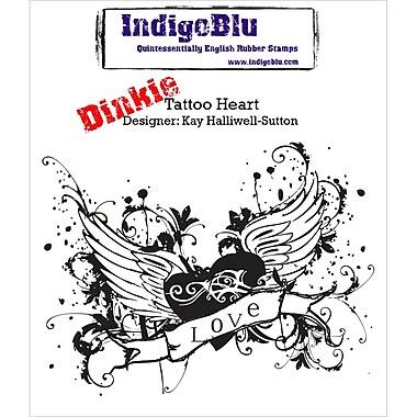 IndigoBlu Cling Mounted Stamp Tattoo Heart