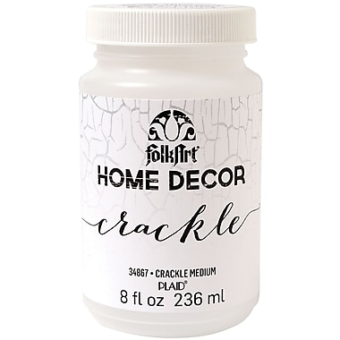 FolkArt Home Decor Crackle, Medium