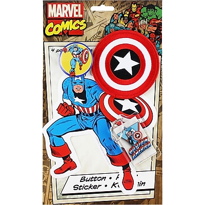 C&D Visionary Collector's Pack, Captain America 1580042