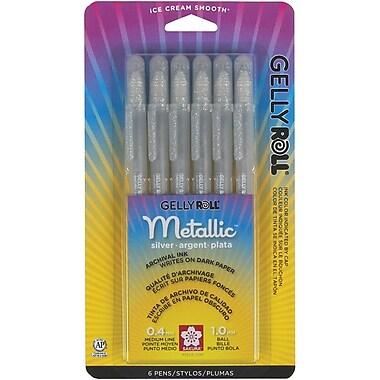 Sakura Gelly Roll Gel Pen, Silver