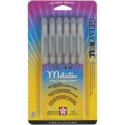 Sakura Gelly Roll Gel Pen, Silver