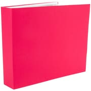 Colorbok 3 Ring Fabric Album 12 x 12 inch, Pink