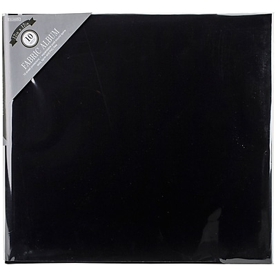 Colorbok Fabric Post Bound Album