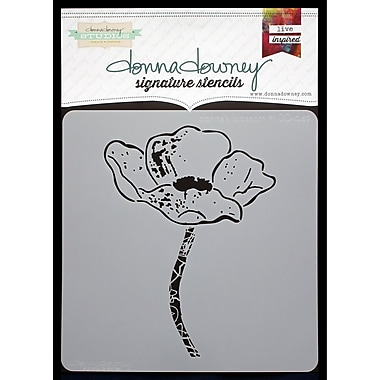 Donna Downey Stencils Signature Stencils, Donna's Blossom 1