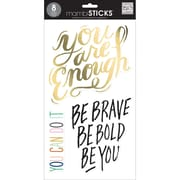 Me & My Big Ideas Large Word Stickers 12 x 7 inch , Be You