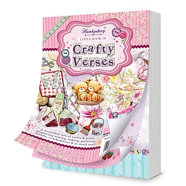 Hunkydory Crafts A6 Verse Pad A6 The Little Book of Crafty Verses