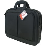 "Travel Solution Black Polyester Fabric Top-Loading 17"" Notebook Bag"