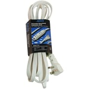 AXIS® 3-Outlet Indoor Extension Cord, 8ft, White