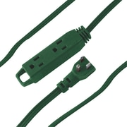 AXIS® 3-Outlet Extension Cord with Foot Switch, 9', Green