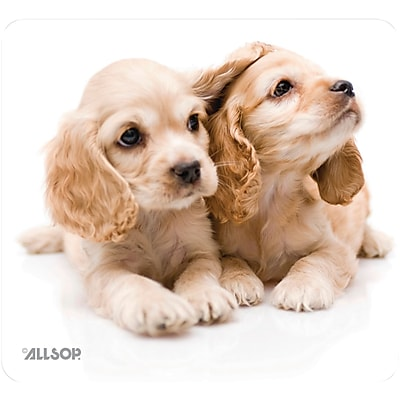 Allsop® NatureSmart™ Mouse Pad, Puppies