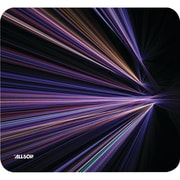 Allsop® NatureSmart Mouse Pad, Tech Purple Stripes