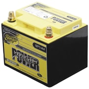 Stinger Power 660 A/12 VDC Dry-Cell Lead-Acid Vehicle Battery, Yellow