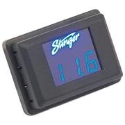 Stinger 3 Digit Voltage Gauge LED Display, Blue