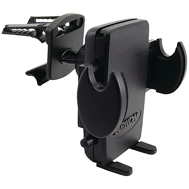 Arkon® SM429-SBH Air-Vent Swivel Car Mount With Adjustable Cradle For iPhone 5/Galaxy S4, Black